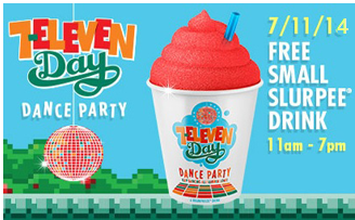 TODAY! Get a Free Slurpee at 7 Eleven on 7/11! | Dfw's Price
